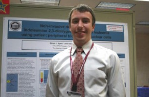 Research Option graduate and interviewee, Ethan Speir.